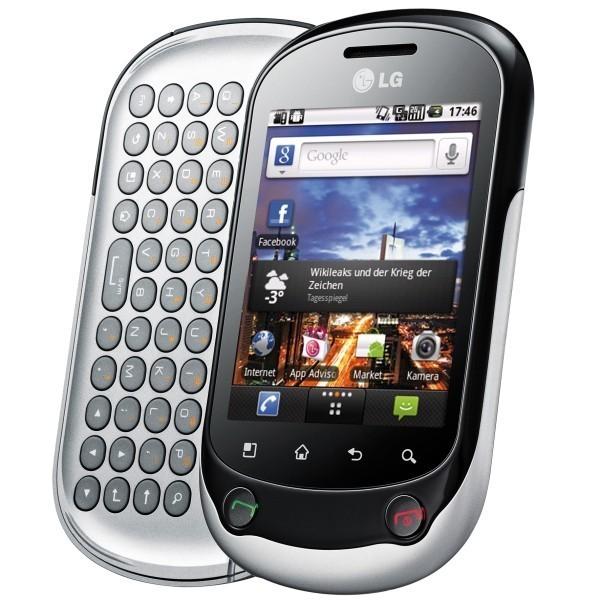 LG Optimus Chat C550 silber ohne Vertrag